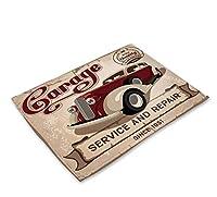 ランチマット 選べる2種類 42×32cm ランチ 子供用 ホームパーティー スクール ギフト 花見 誕生日 おしゃれ テーブルクロス レッドカー