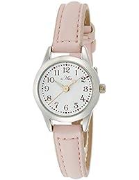 [フィールドワーク]Fieldwork 腕時計 ファッションウォッチ 小丸 レザー 革ベルト ライトピンク FSC026-D レディース