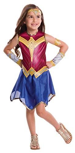 バットマン vs スーパーマン ワンダーウーマン キッズコスチューム 女の子 対応身長120-140cm 620611M