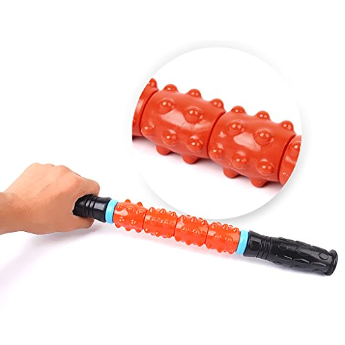 容赦ない変更可能引き算マッサージボール 手のひら 足首 すね 腕 背中 マッサージ 筋肉緊張和らげ 血液循環を促進 6cm