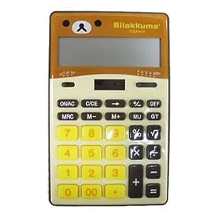 リラックマ 電卓 EM21601