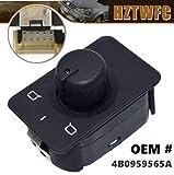 HZTWFC バックミラースイッチノブメモリなしバージョン OEM # 4B0959565A 4B0 959 565A Audi A6 C5 98-05