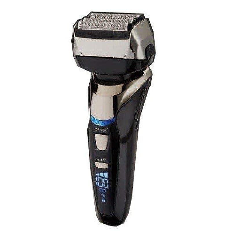 騒対処する実質的Vegetable 電気シェーバー 髭剃り 4枚刃 深剃り 充交両用シェーバー 完全防水充電式 / シェーバー 丸洗い 充交両用式 急速充電 海外対応 1年保証 送料無料