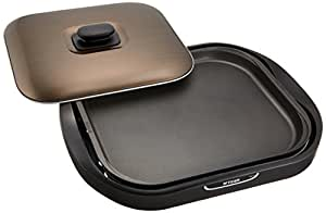 タイガー ホットプレート 「これ1台」 平面・たこ焼き・焼肉プレート付き ブラウン CRC-B300-T
