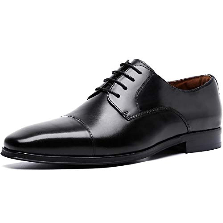 [フォクスセンス] ビジネスシューズ 革靴 本革 ストレートチップ 紳士靴 外羽根