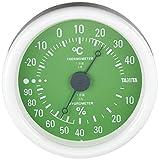 タニタ 温湿度計 アナログ グリーン TT-515 GR 壁掛け