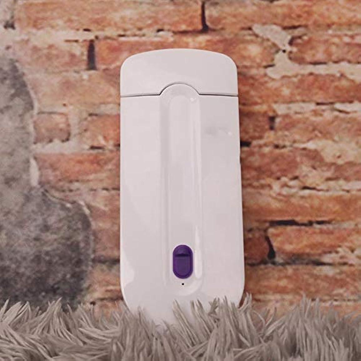 ふける風景目を覚ます女性レーザー充電式脱毛器リムーバースムーズタッチ脱毛インスタント痛み無料かみそりセンサー無料センサーライト安全シェーバー