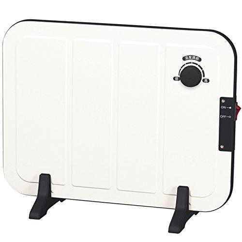 山善(YAMAZEN) ミニパネルヒーター(温度調節機能付) ホワイト DP-SB166(W)...