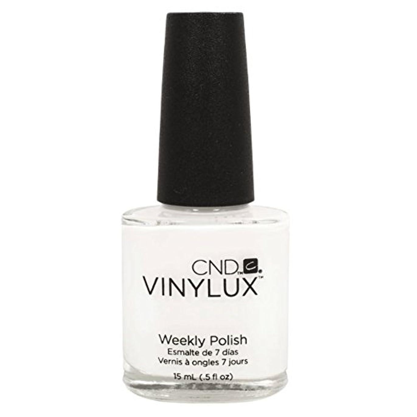 ネックレスうなずく悔い改めるCND Vinylux Manicure Lacquer _ Cream Puff  #108 _0.5oz