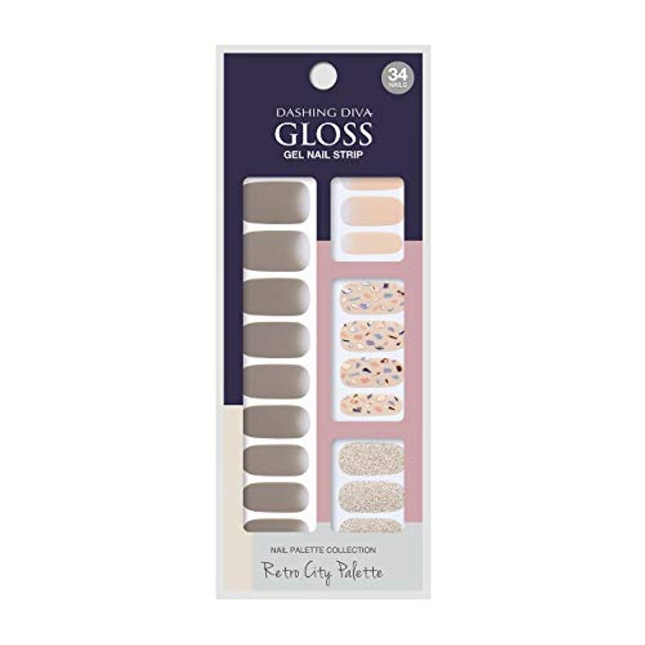 甘やかす量ローラーダッシングディバ グロスジェル ネイルストリップ DASHING DIVA Gloss Gel Nail Strip GVP86 -DURY+ オリジナルジェル ネイルシール Glory Days