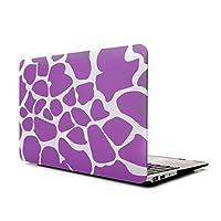 Macbook Pro 13 Retinaケース、 L2W Macbook pro 13 インチRetinaスリーブハードシェル保護コーブの Macbook pro 13.3 Retinaディスプレイモデル: A1425/A1502 (紫色の鹿のデザイン)