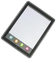 画面FakerタブレットMimic 50-sheetルールドメモ帳Pkg。( 2)