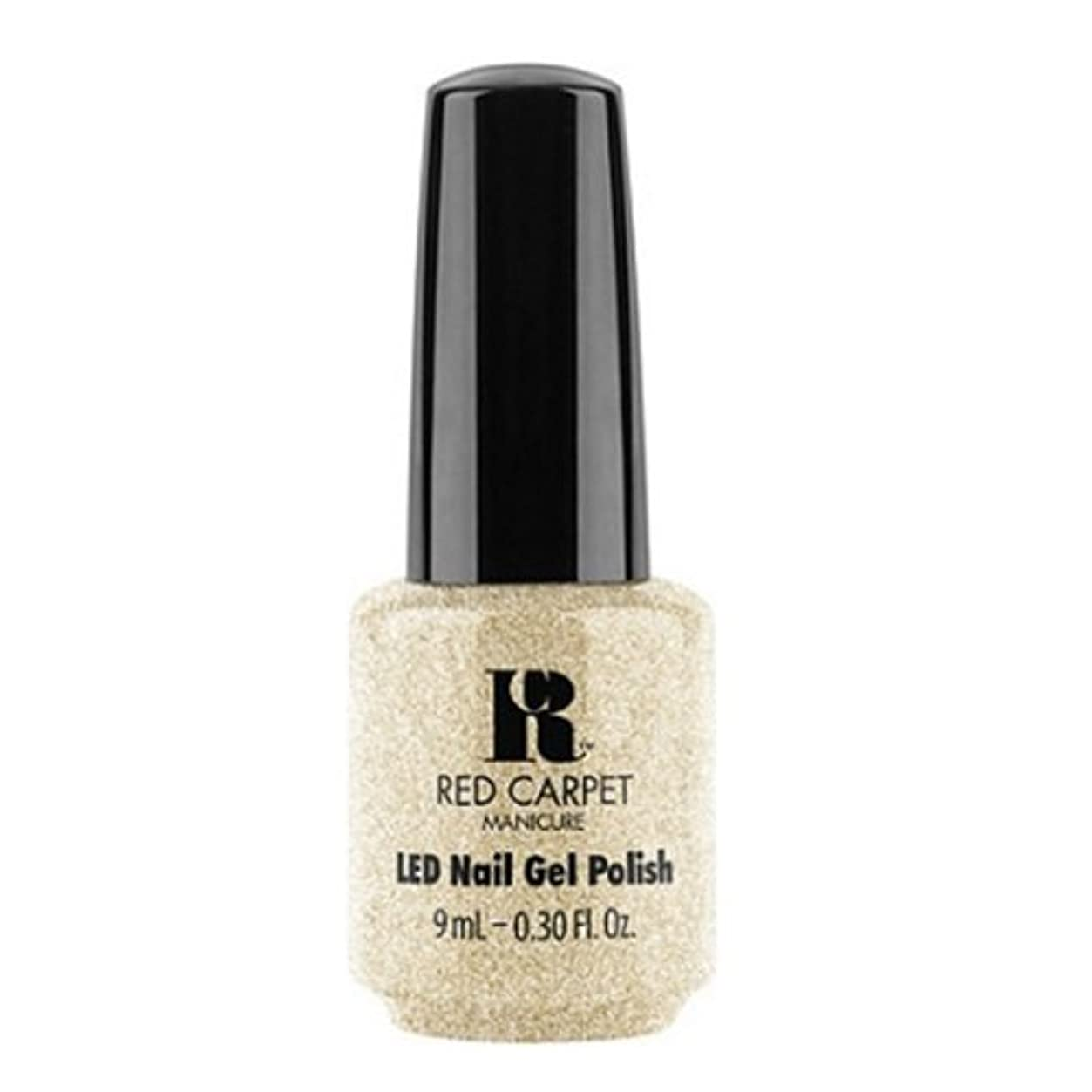 かんたん自宅でコミュニケーションRed Carpet Manicure - LED Nail Gel Polish - All the Sparkles - 0.3oz / 9ml
