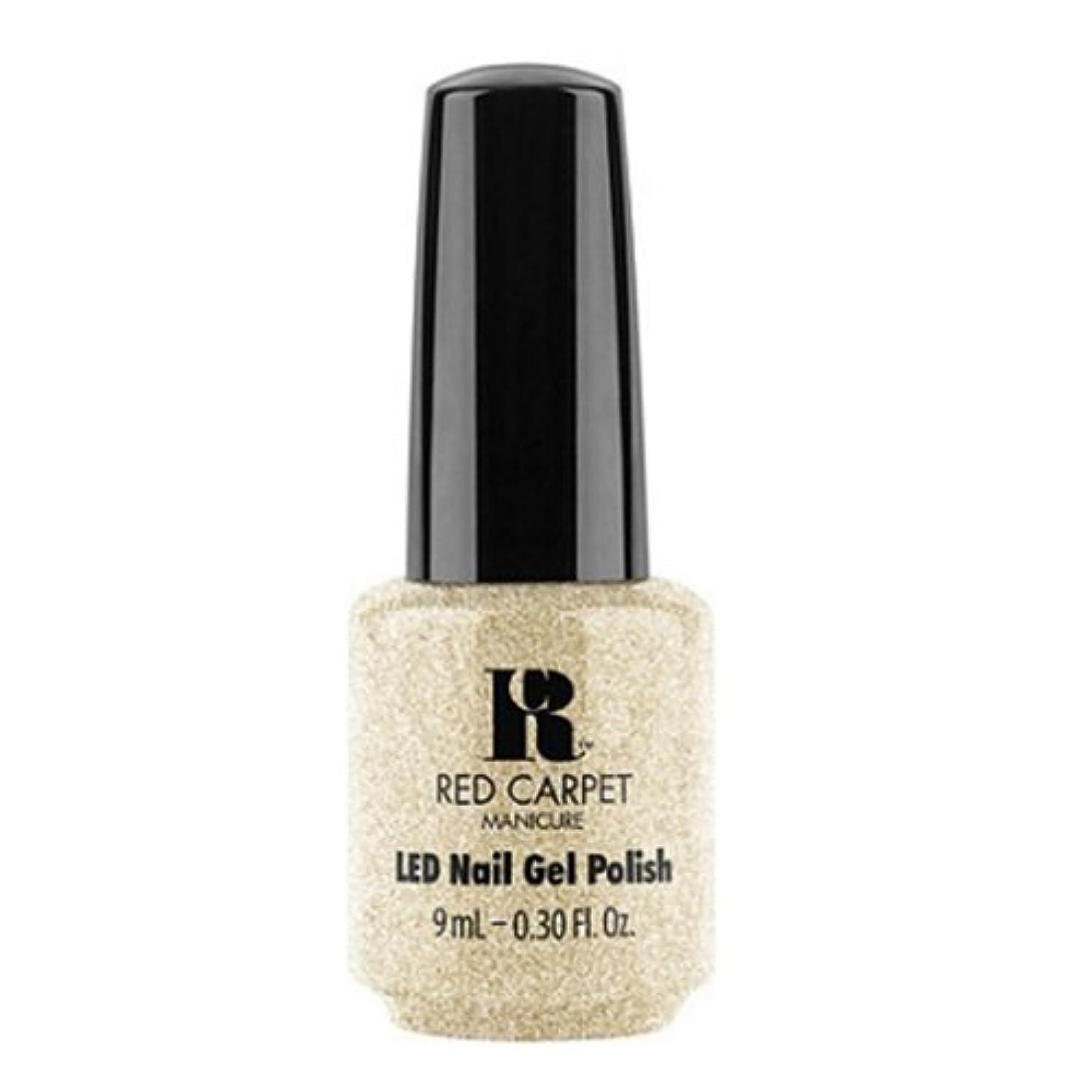 以降画像安心させるRed Carpet Manicure - LED Nail Gel Polish - All the Sparkles - 0.3oz / 9ml