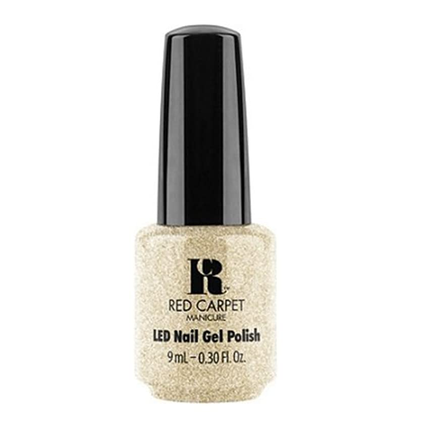 呼び起こすクラスモックRed Carpet Manicure - LED Nail Gel Polish - All the Sparkles - 0.3oz / 9ml