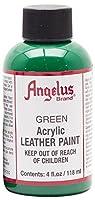 Angelusレザーペイント4oz-greenサイズ: 4オンスカラー:グリーン、モデル:、オフィスアクセサリー& Supply Shop