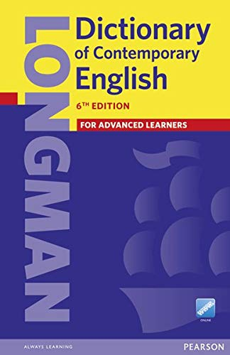 Longman Dictionary of Contemporary English (6E) Paperback & Online (LDOCE)