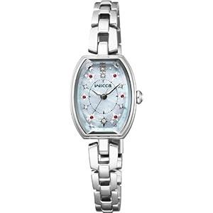 [シチズン]CITIZEN 腕時計 wicca ウィッカ ソーラーテック プレミアム/ダイヤモンド KF3-010-93 レディース