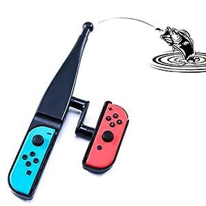 釣り竿 Nintendo Switch Joy-con用 釣竿 体感コントロールゲーム 釣りロッド ジョイスティック ゲームパッドツール 釣りスピリッツ対応