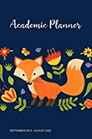 Academic Planner: Weekly Planner with Bible Verses September 2019 - August 2020 for Middle, High School and College Students, Christian Journal