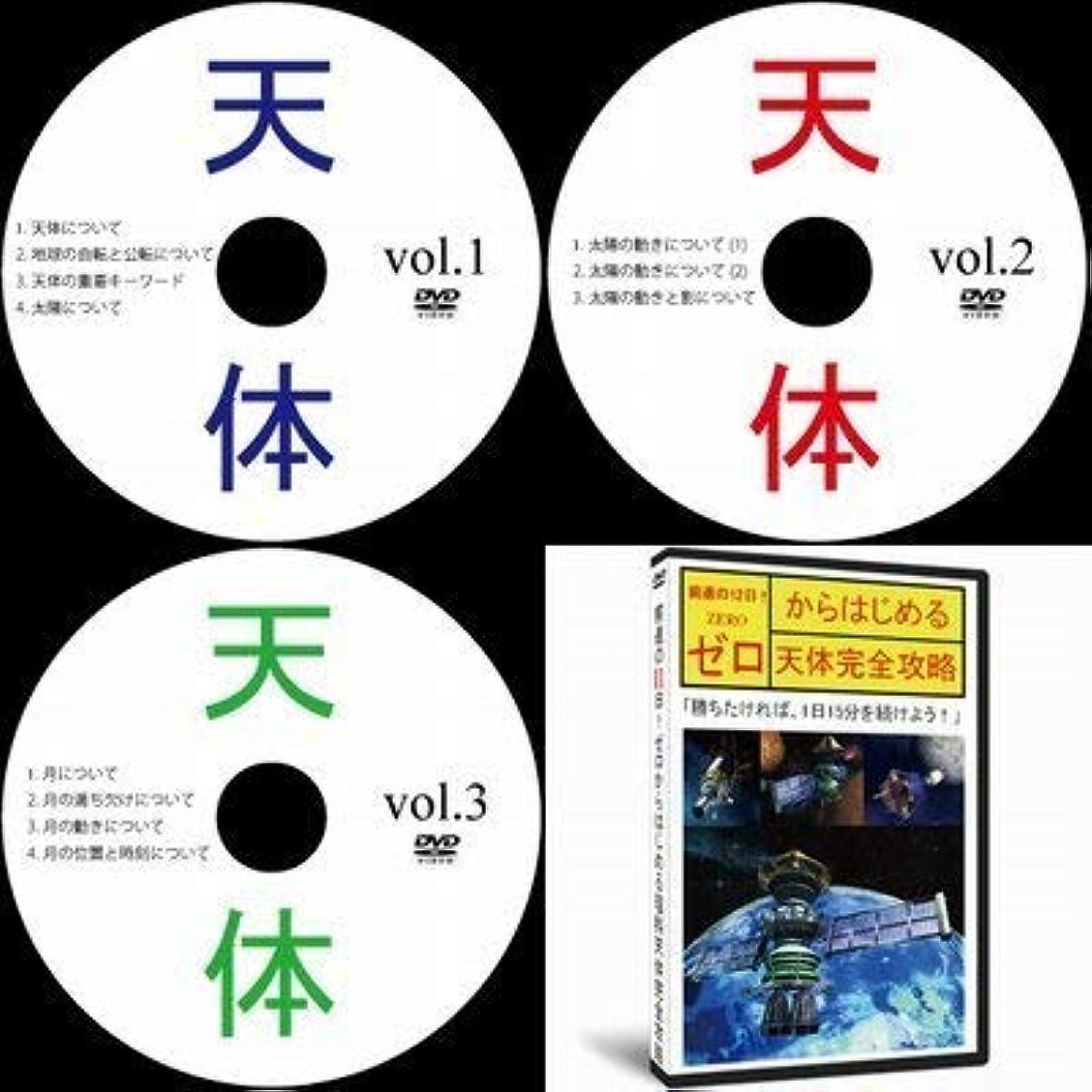 アンソロジー批判的につば中学受験理科天体DVD全3巻