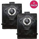 2レインボースタイルEシリーズHEPAフィルターフィットRexair、E & e2シリーズ、と互換性の部品交換パーツ# r10520、r-10520 & r12106b、洗濯可能&再利用可能な、by Think Crucial