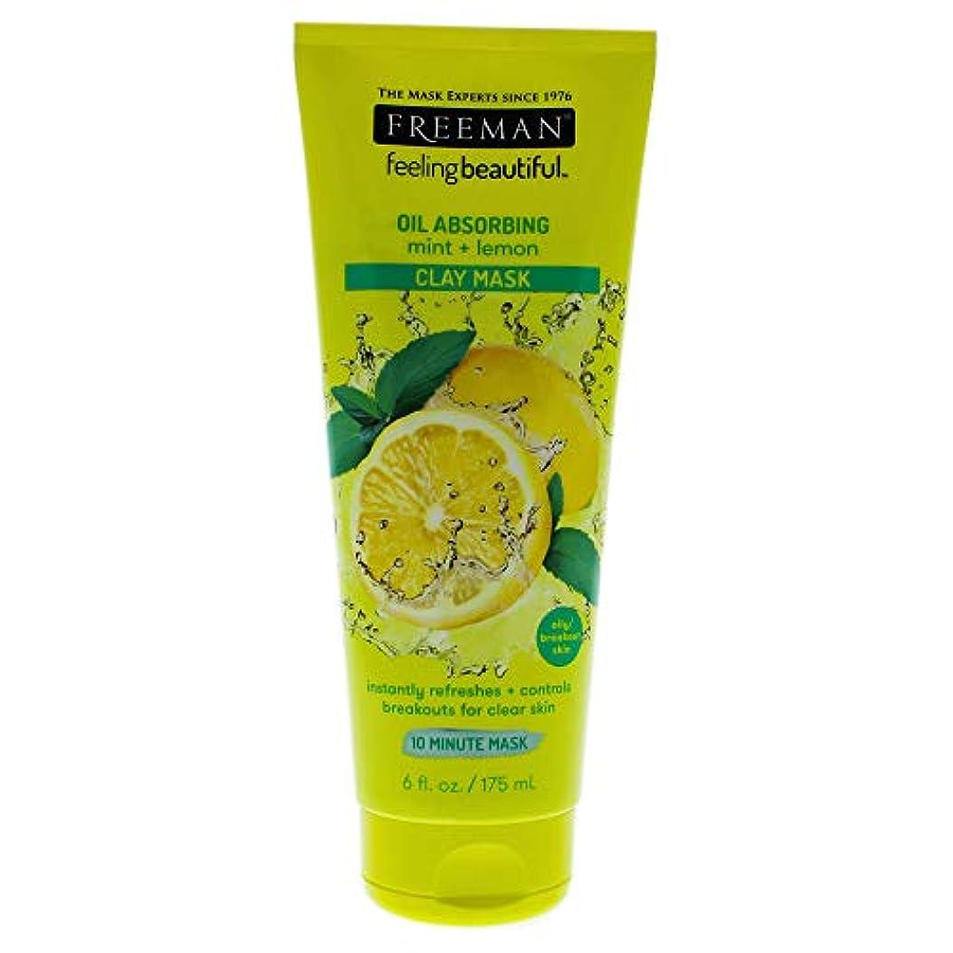 広大なスマイル爆発物Feeling Beautiful Clay Mask Mint and Lemon