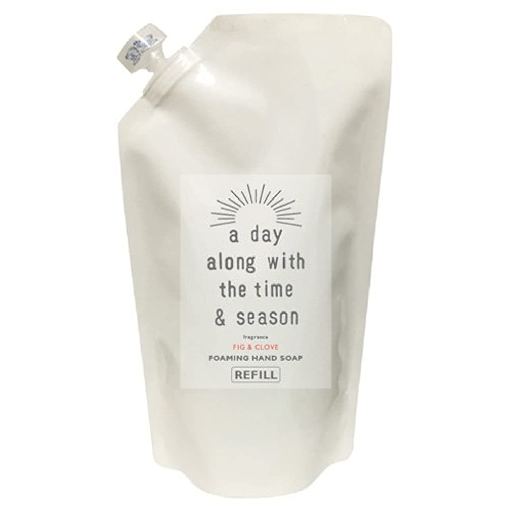 明日精緻化ロビーアデイ(a day) フォーミングハンドソープリフィル フィグ&クローブ 300ml(2回分)(手洗い用 天然由来 詰め替え用 個性的でフルーティーなフィグにオリエンタルなクローブを組み合わせた香り)