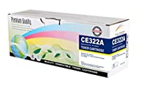 Print Rite Yellow Toner Cartridge compatible with the HP (HP 128A) CE322A [並行輸入品]