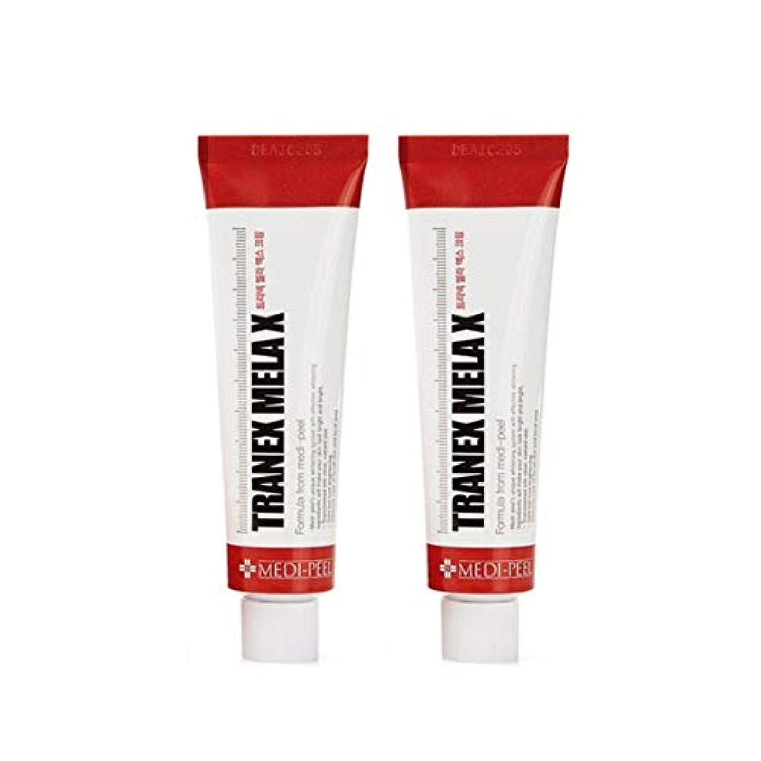 電気陽性苦い付録メディピル?トラネック?メラX?クリーム30mlx2本セット美白クリーム韓国コスメ、Medi-Peel Tranex Mela X Cream 30ml x 2ea Set Whitening Cream Korean...