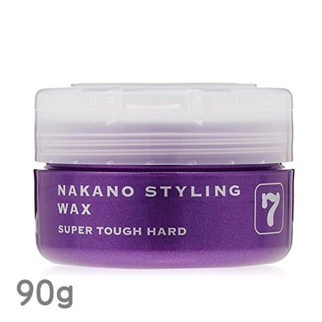 エイリアン素晴らしいです積極的にナカノ スタイリングワックス 7 スーパータフハード 90g 中野製薬 NAKANO