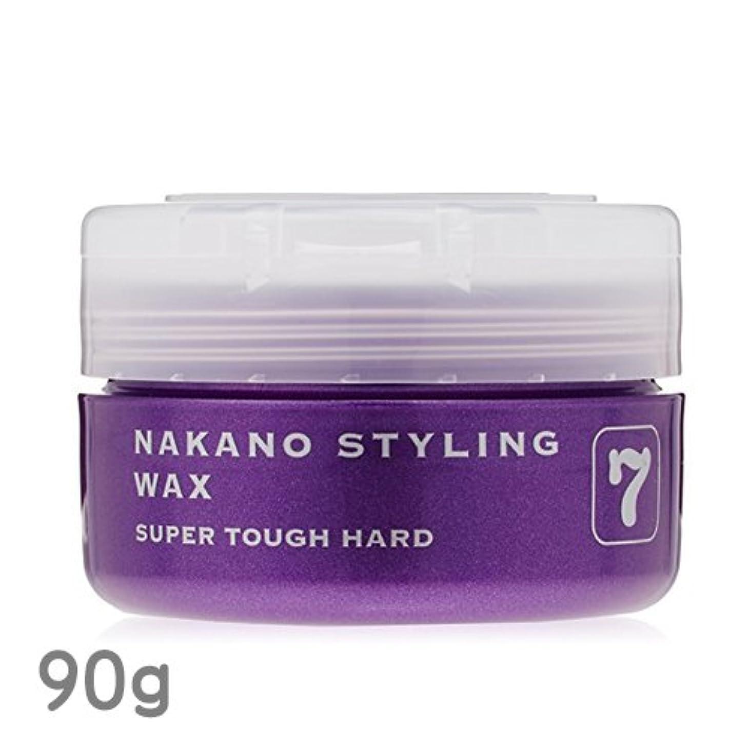 ピッチ湿原大胆不敵ナカノ スタイリングワックス 7 スーパータフハード 90g 中野製薬 NAKANO