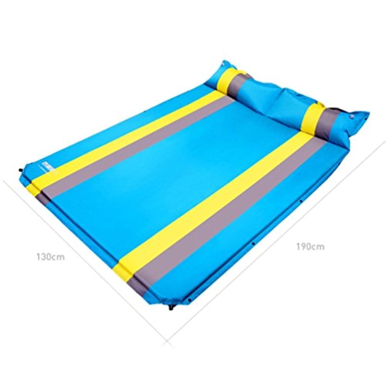 余剰めまいが疑い者自動インフレータブルクッションテントピクニックマット屋外睡眠パッドポータブル超軽量折りたたみ可能な水分パッド肥厚フィールドマット