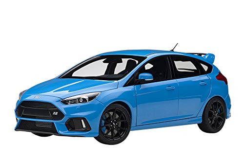 AUTOart 1/18 フォード フォーカス RS ブルー 完成品