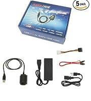 コンピュータ外部ハードドライブIDE + SATA SATA IDE USBライン3つwithハードディスクスイッチングデータライン
