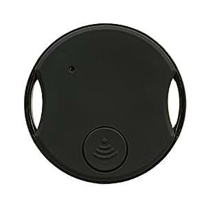 ビビーコン スマホを触れずにSOS情報を送信できるまたはスマホカメラのシャッターとしても利用可能なスーパーリモコン (ブラック) ZBS-J1-BK