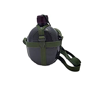 中国軍 【 87式 水筒 】 アルミ水筒 ウォーターボトル 人民解放軍 アウトドア キャンプ サバゲー サバイバルゲーム 装備 ベトコン ベトナム戦争 キャンティーン 解放軍 北ベトナム軍 80式代用にも C022