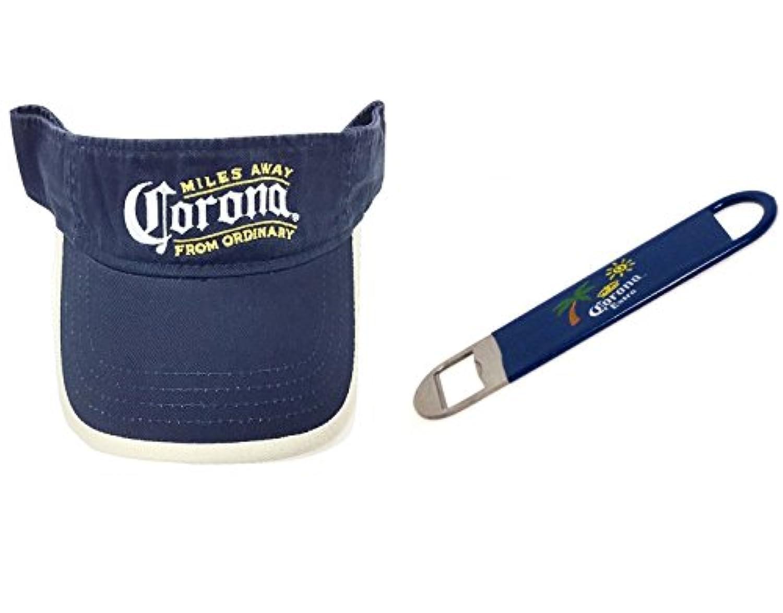 Corona Extra Beerバイザー& Bottle Opener 2パック