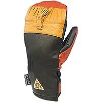 17-18 eb's (エビス) スノーグローブ HARUSAKI-LEATHER TASSEL Mサイズ ハルサキ?レザー ミットミトン 手袋