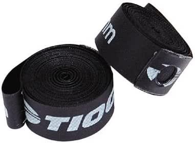 """TIOGA(タイオガ) ナイロンリムテープ 24""""×17mm ブラック 2本セット"""