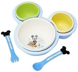 錦化成 ベビー食器 離乳食パレット ミッキーマウス
