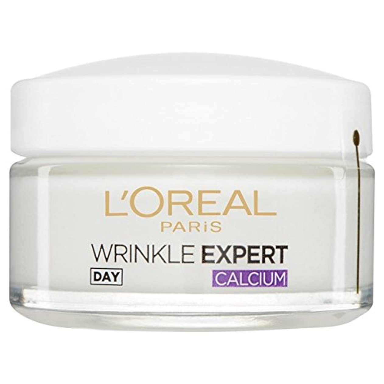 同一の導体落ち着いたL'Or?al Paris Dermo Experties Wrinkle Expert 55+ Calcium Day Pot 50ml (Pack of 6) - ロレアルパリ?ダーモしわの専門家55+カルシウム日間...