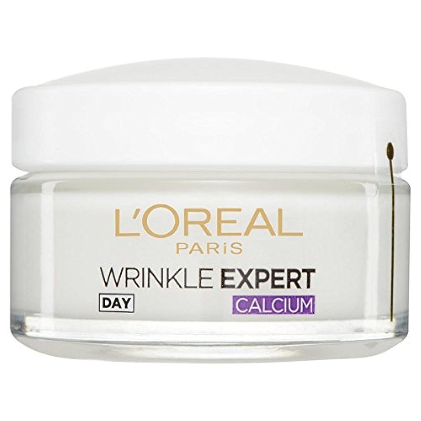 カヌー鳩塊L'Or?al Paris Dermo Experties Wrinkle Expert 55+ Calcium Day Pot 50ml - ロレアルパリ?ダーモしわの専門家55+カルシウム日間のポット50ミリリットル...