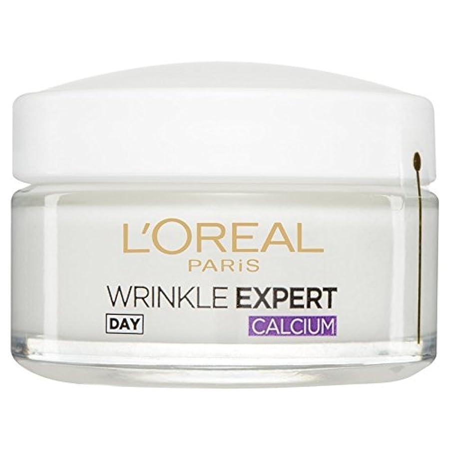振り返る原稿導入するロレアルパリ?ダーモしわの専門家55+カルシウム日間のポット50ミリリットルを x4 - L'Or?al Paris Dermo Experties Wrinkle Expert 55+ Calcium Day Pot...