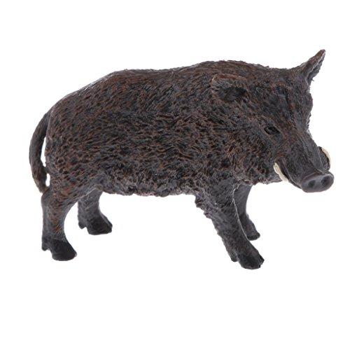 Baoblaze 教育玩具 PVC動物モデル 小道具 野生の猪 ギフト 家庭 置物