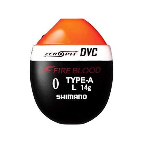 シマノ ウキ ファイアブラッド ゼロピット DVC TYPE-A L 0 オレンジ FL-112P