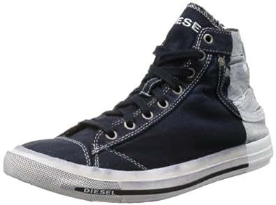 [ディーゼル] DIESEL MAGNETE EXPOSURE I - sneaker mid Y00023P0192 P0192H1327 (インディゴブルー/43)