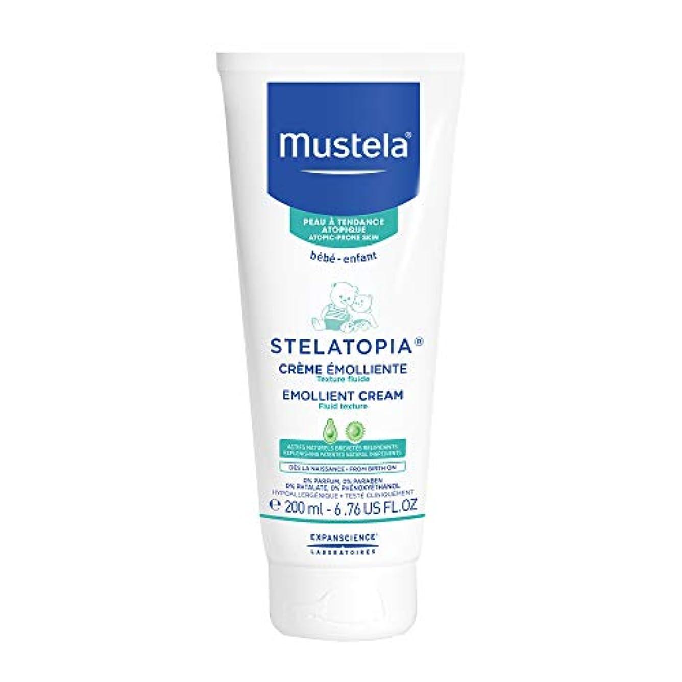 重なる麻痺洗剤Mustela - Stelatopia Emollient Cream (6.76 oz.)