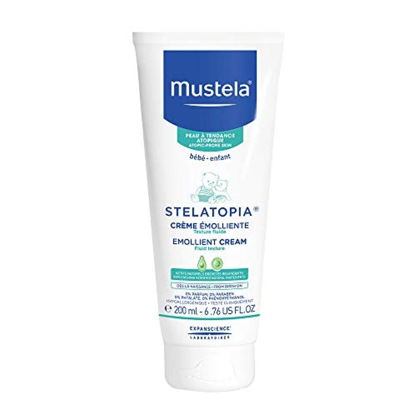 ニコチン炭水化物オートメーションMustela - Stelatopia Emollient Cream (6.76 oz.)