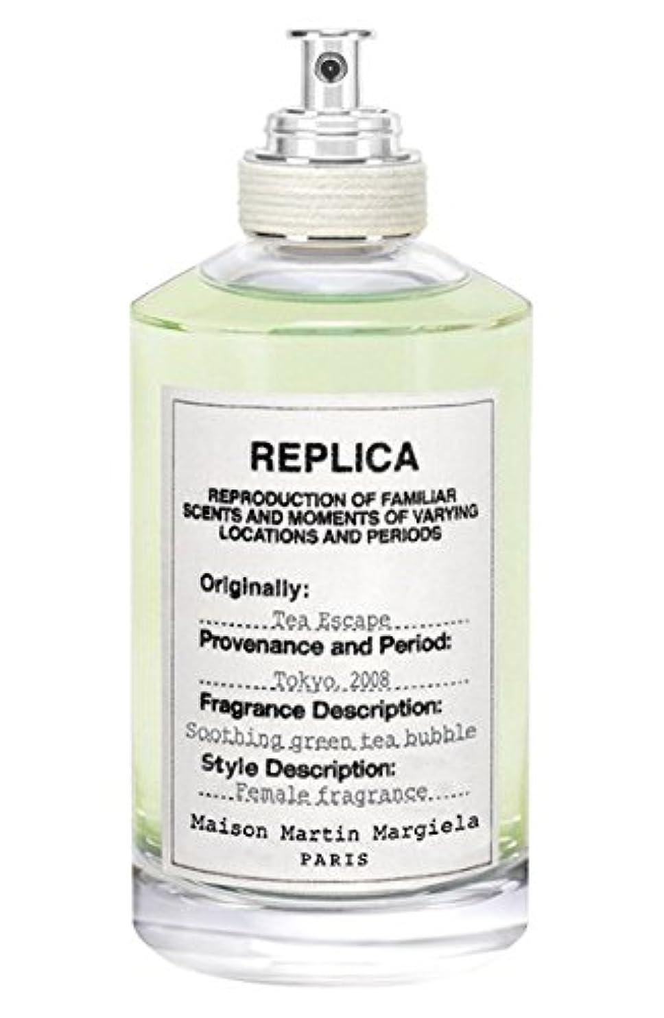 アーサーコナンドイル振動させる予報Replica - Tea Escape (レプリカ - ティー エスケープ) 3.4 oz (100ml) Fragrance for Women